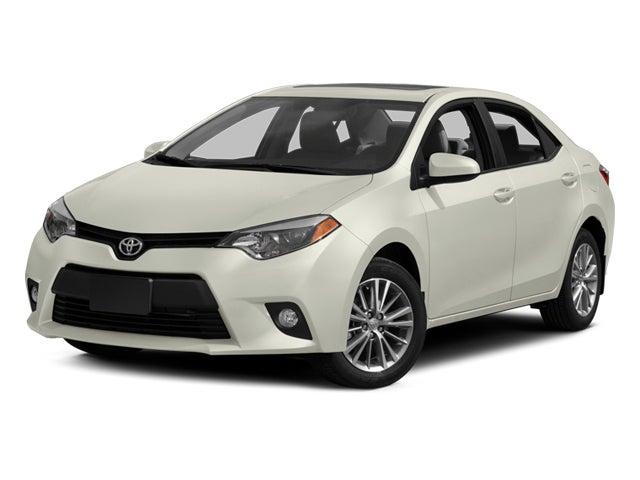 2014 Toyota Corolla Le Eco Knoxville Dealer